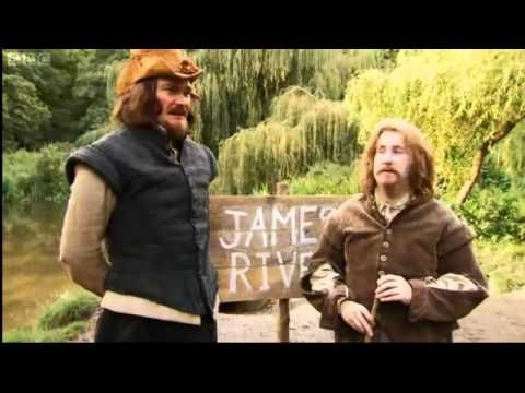 Horrible Histories - Colonisation, Colonisation, Colonisation, via YouTube.(Jamestown colony)