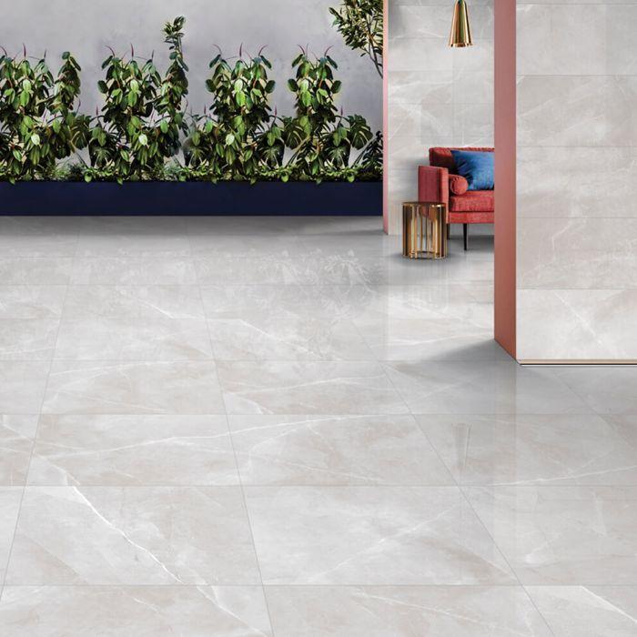 Pietra Light Grey Polished Porcelain Tiles Porcelain Floor Tiles Tile Floor Flooring