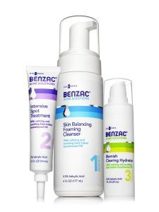 Whilst targetted at acne, Benzac Acne Solutions may be a good choice for rosacea sufferers with a strong papule and pustule presentation of their rosacea. If rosacea sufferers can tolerate Salicylic Acid then this over the counter product is worth a try.