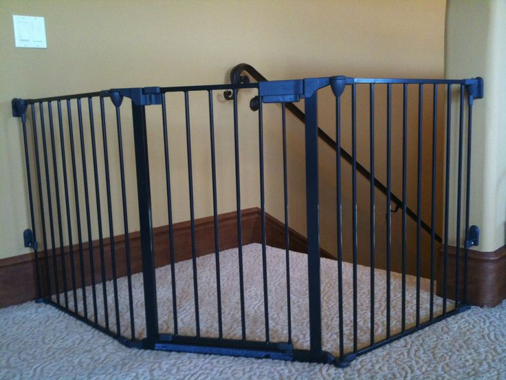 Top of Stairs Baby Gate Ideas - http://www.sbadventures.com/top-of-stairs-baby-gate-ideas/ : #StairIdeas Tops of stairs baby gate – In how to make sure about your child safety, baby gate can be put into one of the considerations. Keeping your baby from harmful things is very important. This is meant so that you can feel safe while taking care of your baby and doing other things at the same time. Y...
