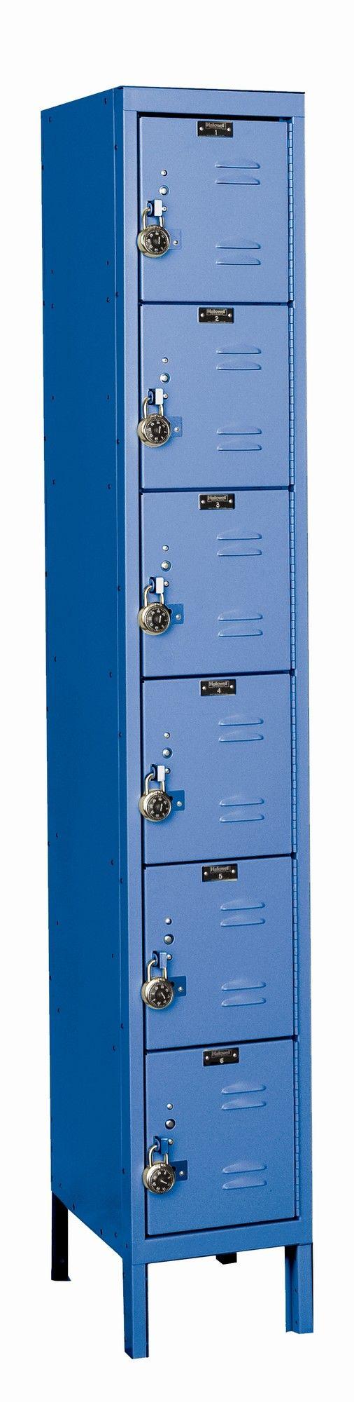 ReadyBuilt 6 Tier 1 Wide Employee Locker