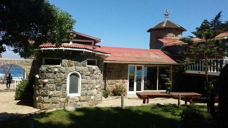 Casa museo del poeta Pablo Neruda en Isla Negra.Chile.