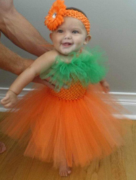 Pumpkin tutu Halloween Costume by ericabilezikjian on Etsy
