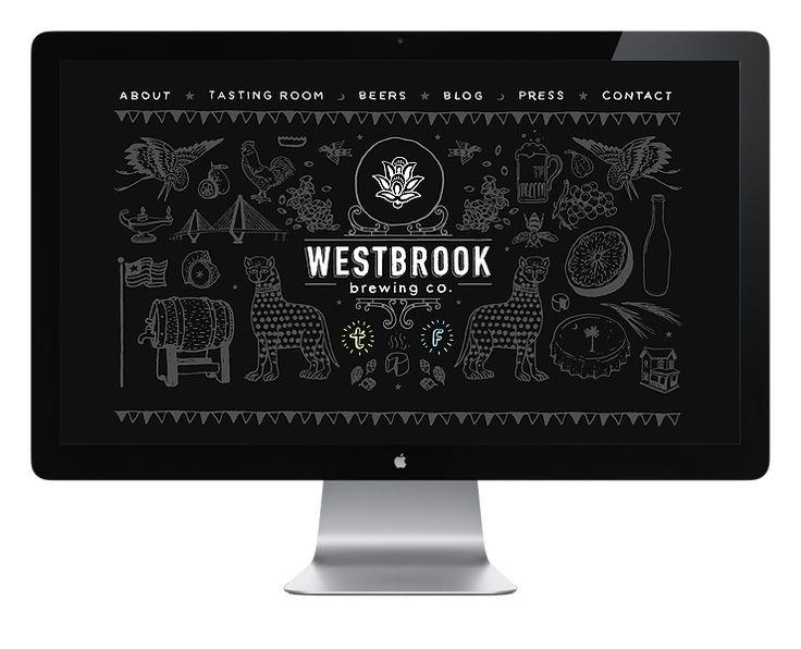 ...Webdesign, Website Illustration, Web Design, Fuzzco, Westbrook Brew, Westbrookbrew Front, Graphics Design, Website Design, Fun Website