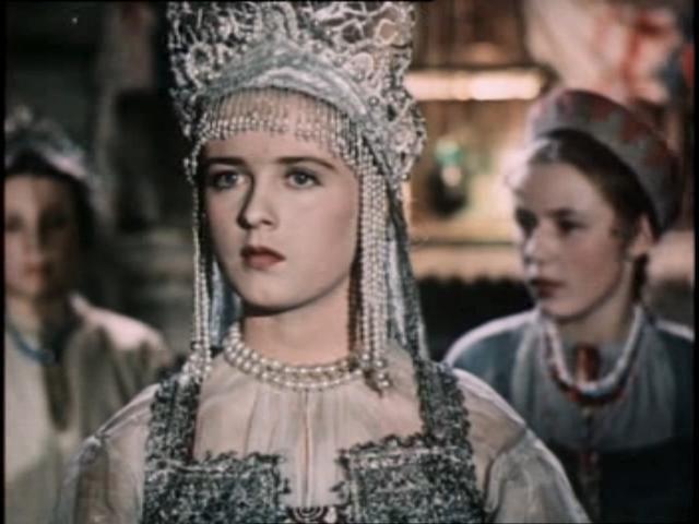 Actress Ekaterina Derevschikova.