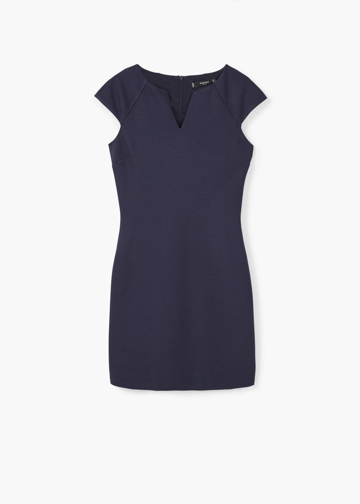 Rechte jurk - Jurken voor Dames | MANGO Nederland
