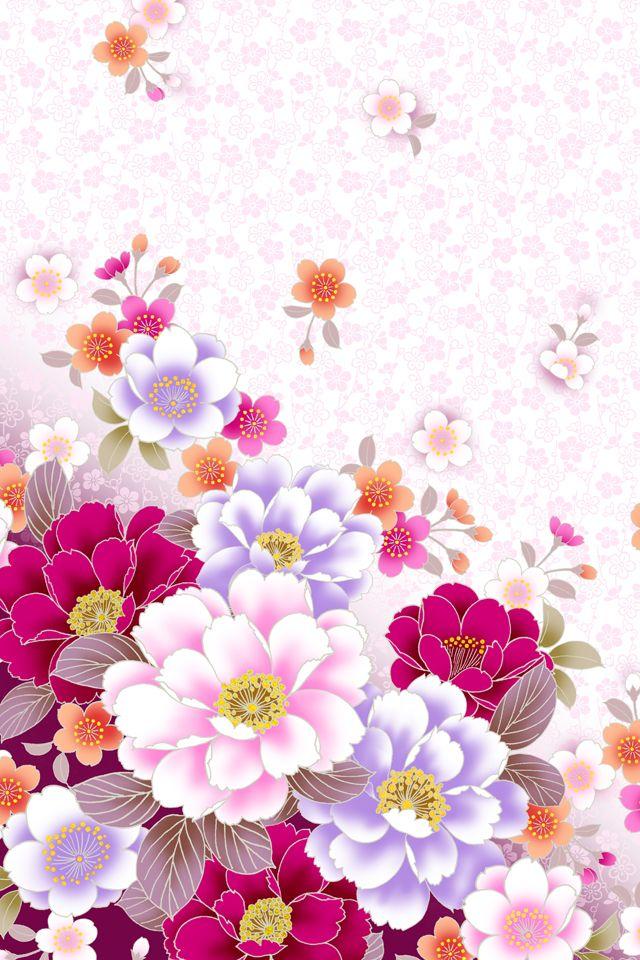 Внука, обложка на открытку с цветами