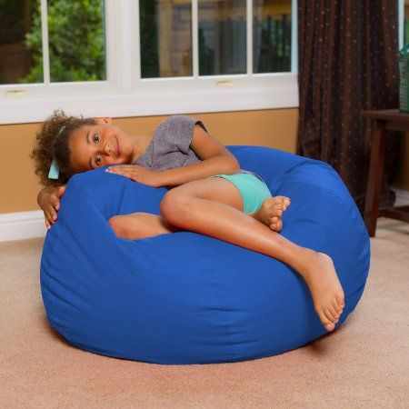 27 Inch Bean Bag For Teens Adults And Children Walmart Com Bean Bag Chair Contemporary Bean Bag Chairs Bags For Teens
