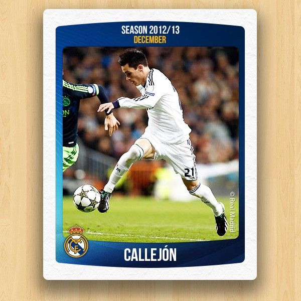 Real Madrid Collections - Callejón