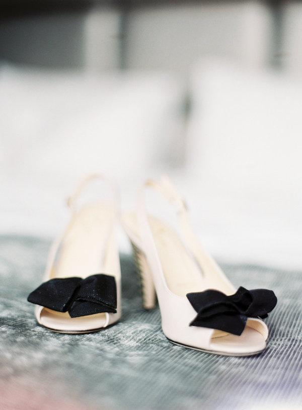 Monochrome Trend  Beautiful Wedding Shoes