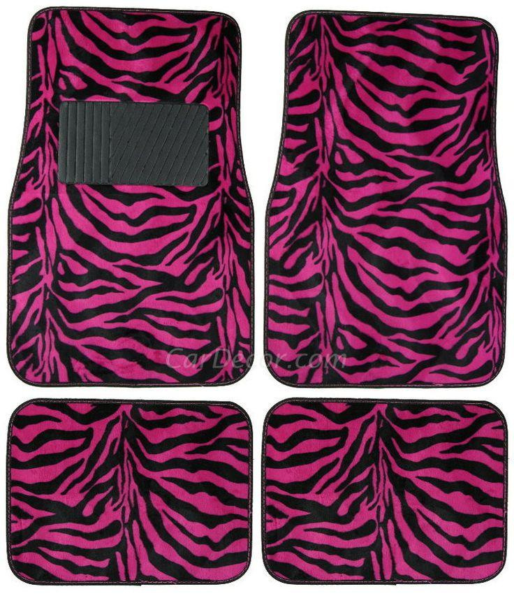 Hot Pink Zebra Bathroom Accessories: 1000+ Ideas About Girl Car Accessories On Pinterest