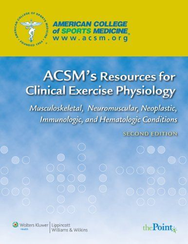 acsm's resources for the group exercise instructor pdf free