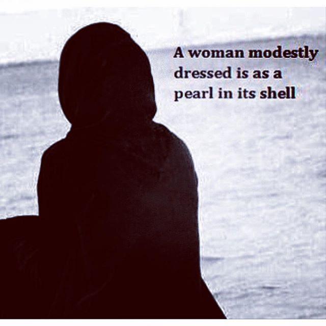 Beautiful words!!! #modesty_rules #women_in_Islam