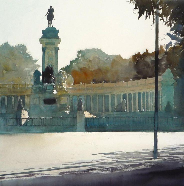 Charles Villeneuve水彩画01(21P) - 桃源居士 - 桃源居