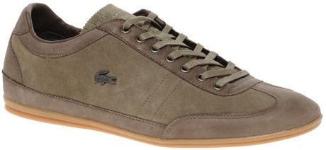 Lacoste Misano 7 Trainers in Brown for Men