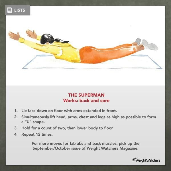 What Are Superman Exercises Superman Exercise So Many