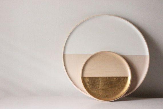 Love these handmade trays on Etsy. Stunning.