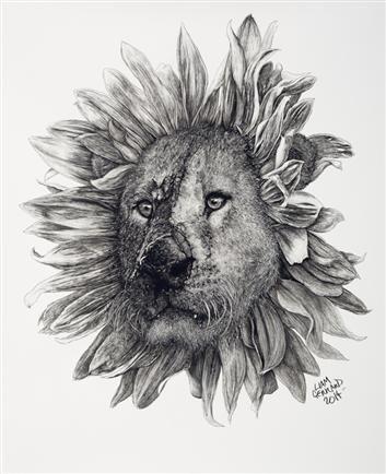 Sunflower Lion