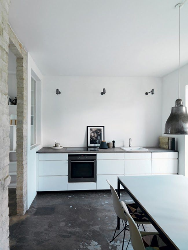 104 best Kvik images on Pinterest Kitchens, Black kitchens and - harmonisches minimalistisches interieur design