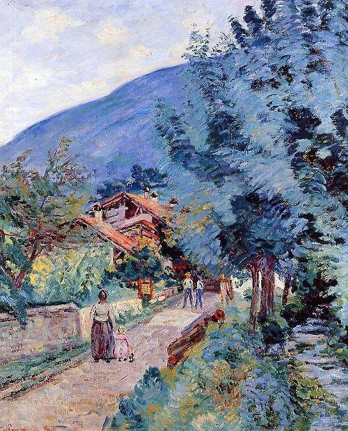 Rue de la Scierie – Pontcharra - Armand Guillaumin