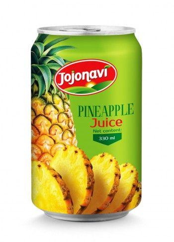 330ml_Natural_Pineapple_Juice_Aluminum_can_Manufacturers