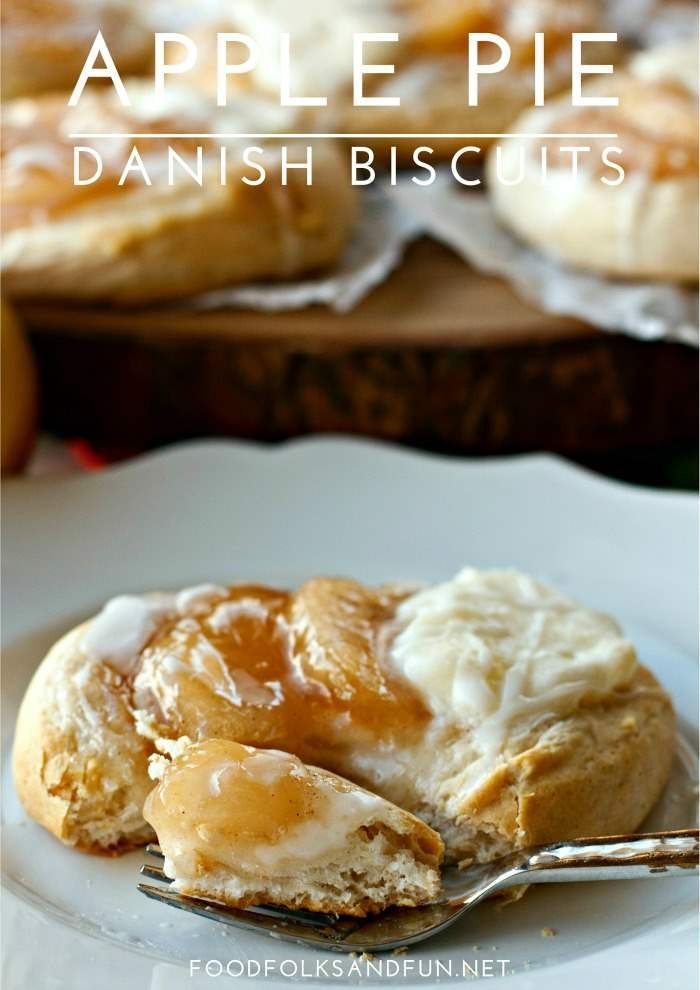 These Apple Pie Danish Biscuits are a versatile Thanksgiving recipe that can be served for dessert or breakfast! Plus they're incredibly easy to make!