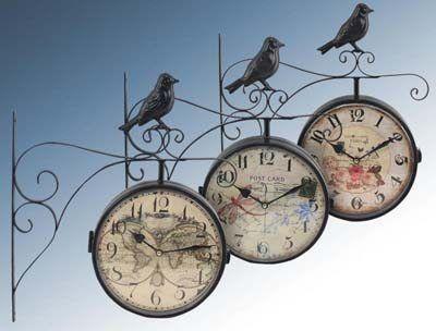 set-de-tres-relojes-retro