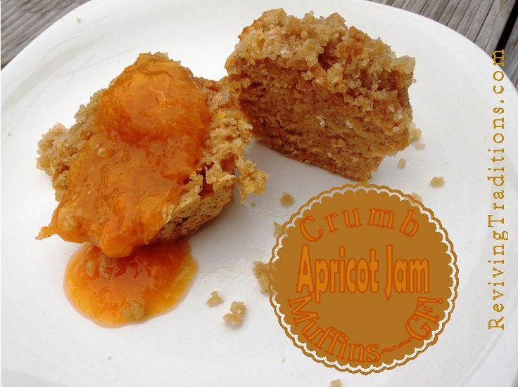 Gluten-free Apricot Jam Muffins - Reviving Traditions
