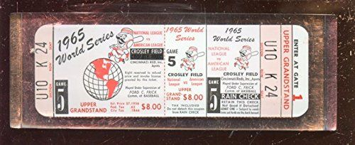 1965 Cincinnati Reds World Series Phantom Ticket Paper Weight >>> Find out more about the great product at the image link.