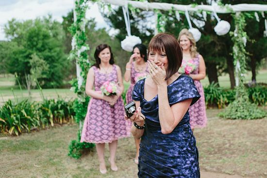 Renee and Brendan's Fifties Inspired Country Wedding