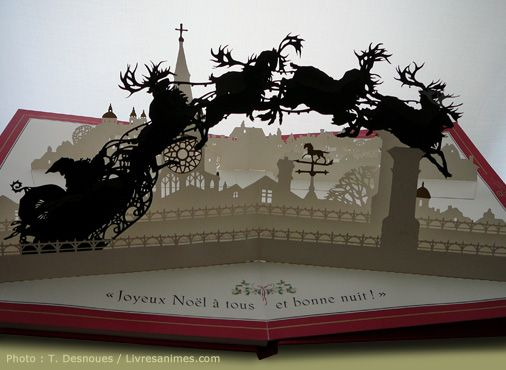 Image result for christmas pop up book