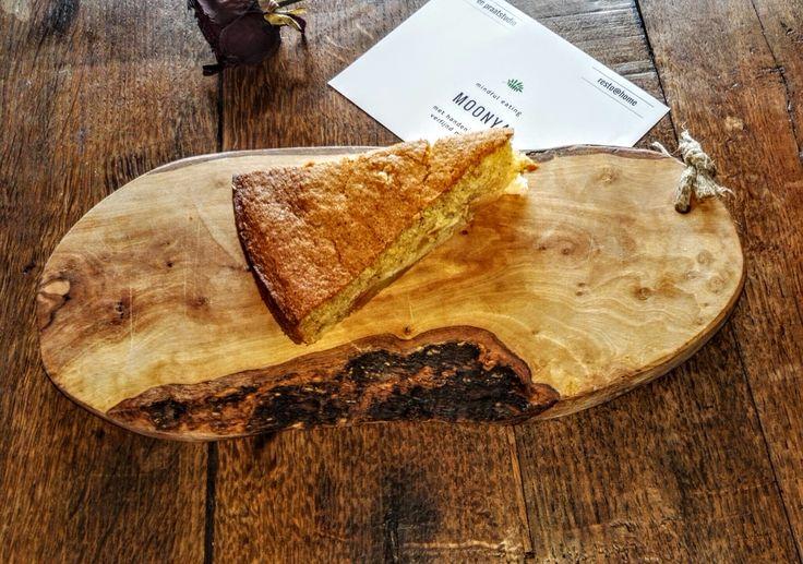 Een caloriearme appel cake, perfecte excuus voor extra pauze tijdens het blokken.