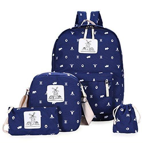 Oferta: 69.99€ Dto: -59%. Comprar Ofertas de FTUNG Backpack Mochilas Escolares Mujer Mochila Escolar Lona Bolsa Casual Para Chicas Bolsa De Hombro Mensajero Billetera barato. ¡Mira las ofertas!