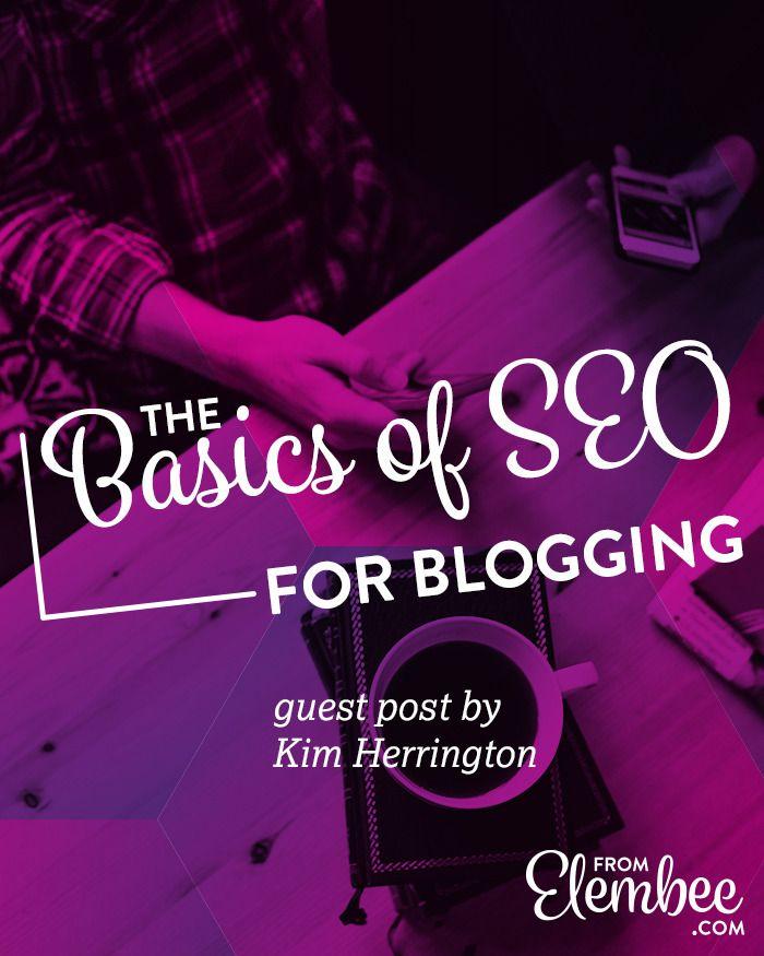 The Basics of SEO for Blogging http://elembee.com/basics-of-seo-for-blogging/?utm_campaign=coschedule&utm_source=pinterest&utm_medium=Lisa%20Butler%20%2F%2F%20Elembee&utm_content=The%20Basics%20of%20SEO%20for%20Blogging
