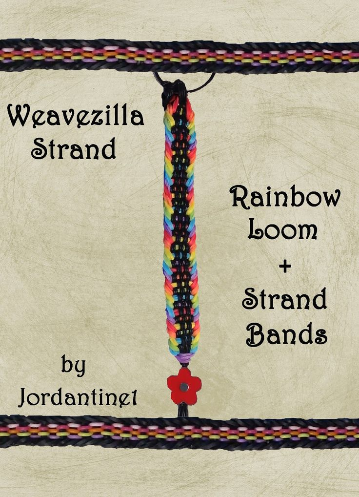 New Weavezilla Strand Bracelet - Rainbow Loom & Strand Bands - Monster Tail