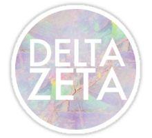 Opal Delta Zeta Sticker