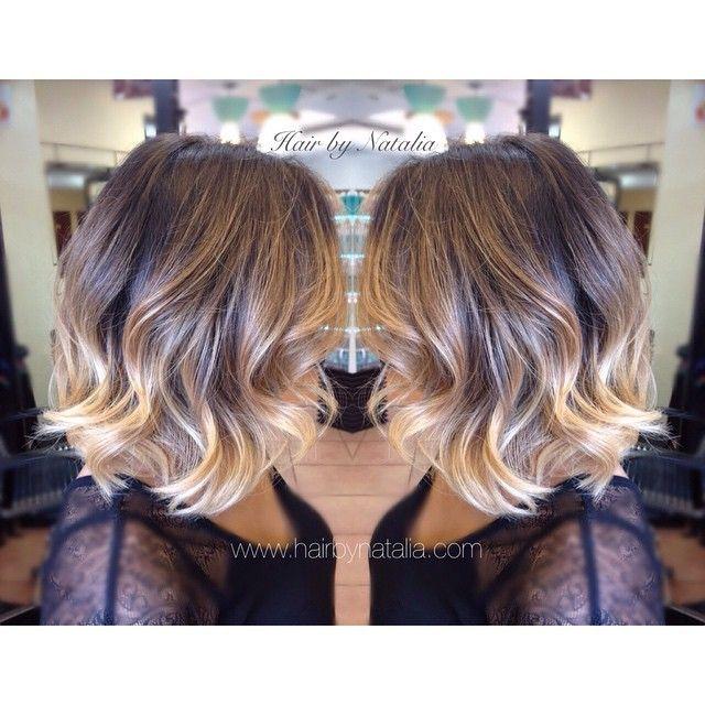 Balayage Hair Color Short Ombre Hair Short Hair Balayage Hair Styles