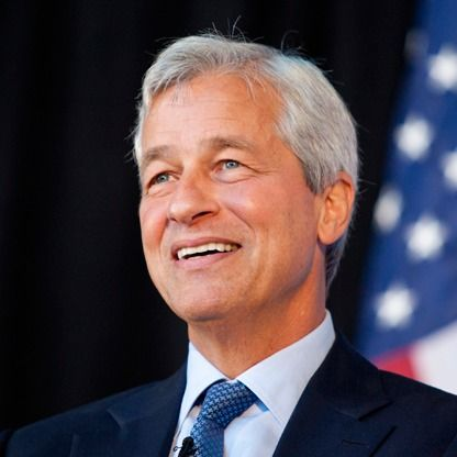 The CEO of JPMorgan Chase, Jamie Dimon