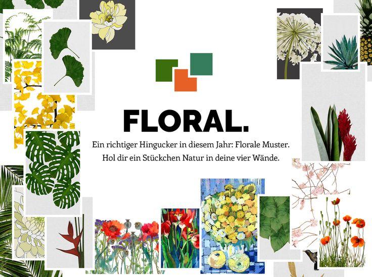 1000+ Bilder zu Trend 2016  Florale Motive auf Pinterest