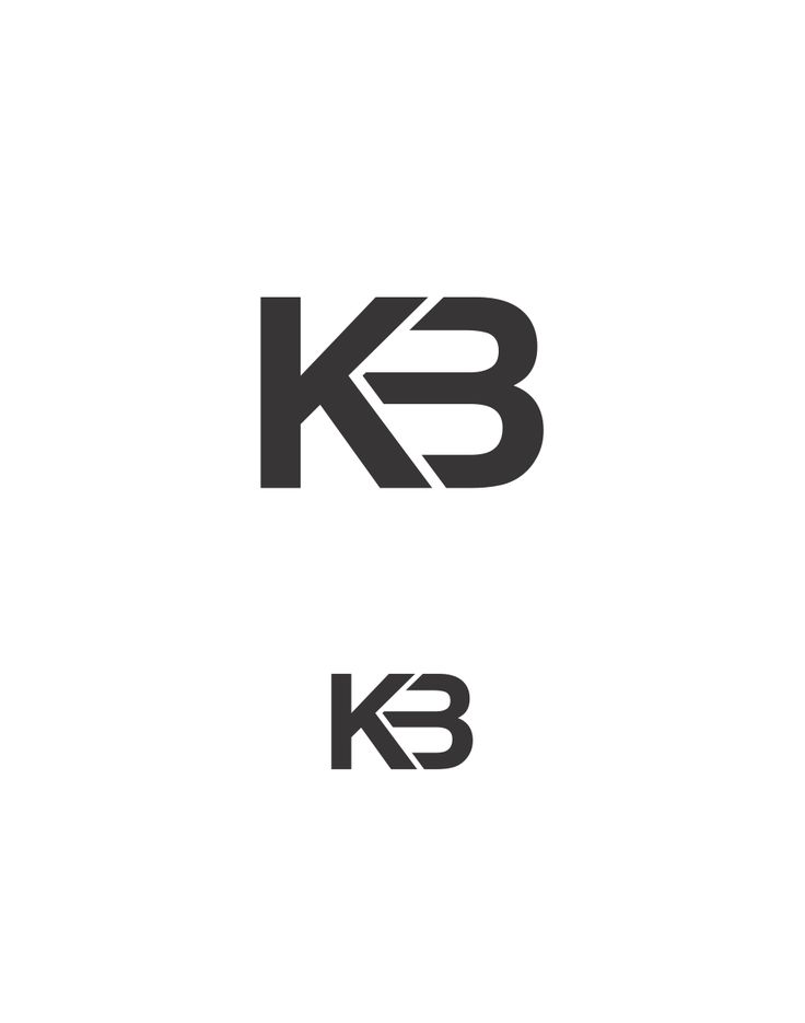 graphic monogram initials branding kb personal brief intro logos project point starting using six rm based modern demchenko inspiration typefaces