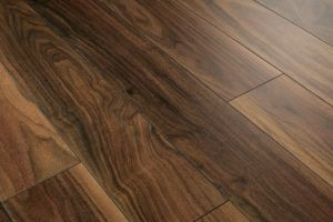 American Walnut Laminate Flooring V Groove
