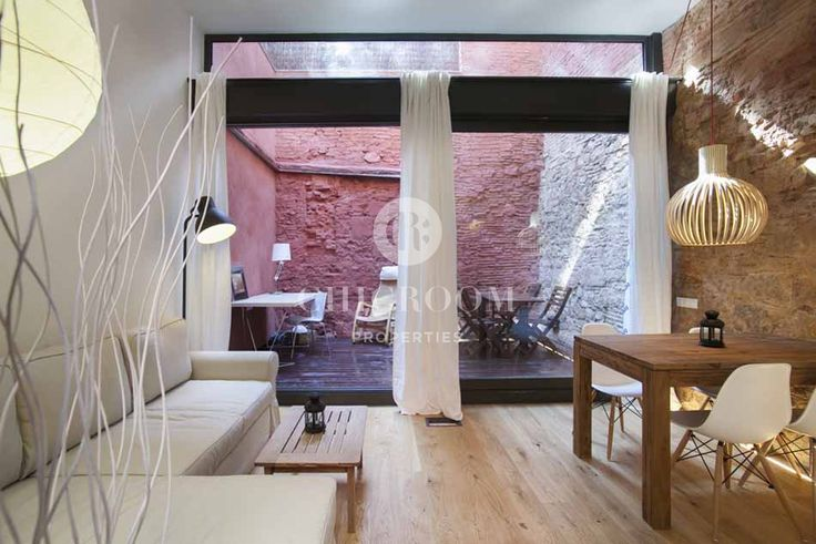 furnished loft for rent in Barcelona Sant Pere