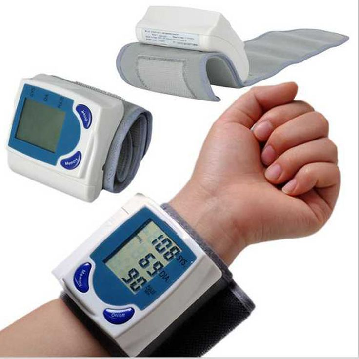 Pulso Digital automático Monitor de pressão arterial e Heart Beat medidor alishoppbrasil
