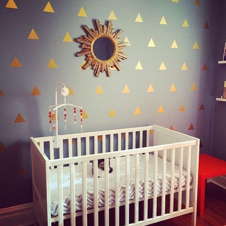 1 компл. современный треугольник образец виниловая наклейка стены искусства для детей номеров детская комната украшения стены наклейки домашнего декора купить на AliExpress