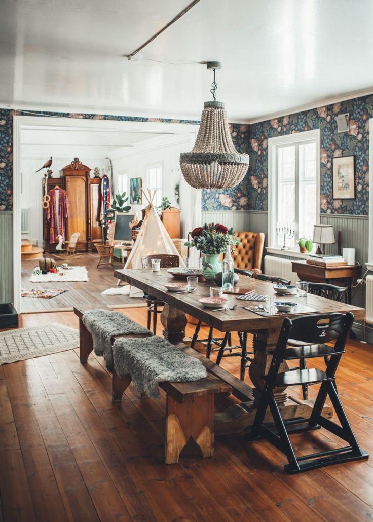 Om Minna Oddson Sndagintervjun Bohemian Dining RoomsBohemian