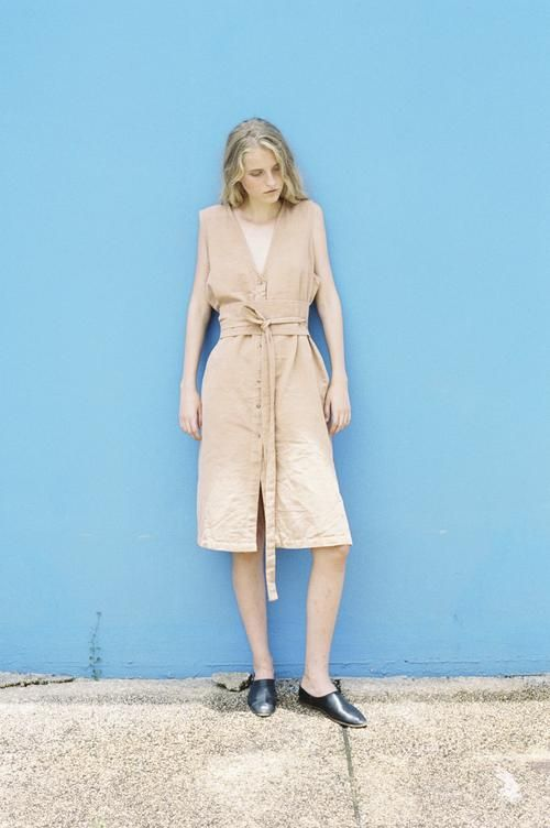 shop ethical sustainable & ethical clothing by Seeker x Retriever Nara Dress: Dusk