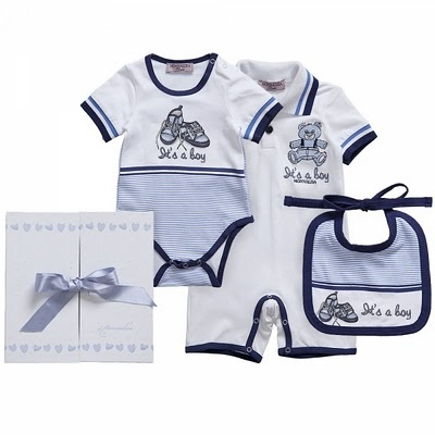 Monnalisa gift set for a lucky baby boy
