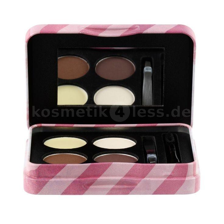 Alles für perfekt gestylte Augenbrauen in einer handlichen Make Up-Box. 3x Augenbrauenpuder, 1x Wax, 1 kleine Pinzette und ein Brauenpinsel/bürste.<