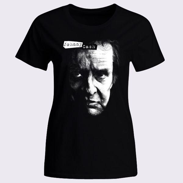 Johnny Cash 50s Womens T-Shirt - T-Shirts & Tank Tops