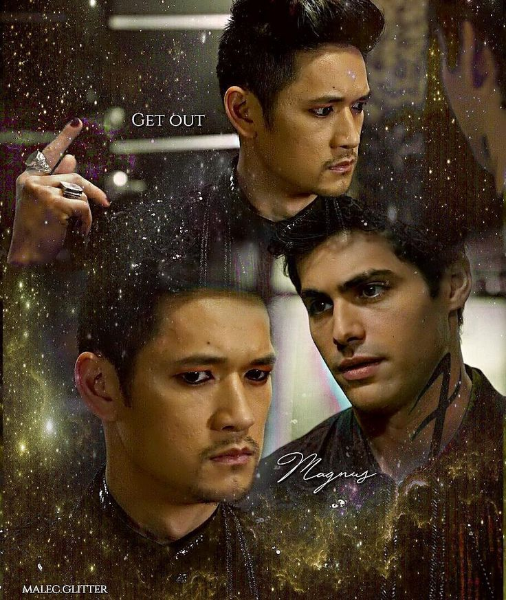 """➰ Shadowhunters ➰ (@malec.glitter) en Instagram: """"⏩[ answer #QOTD below]⏪ I made this edit a few weeks ago and I don't like it, but I don't have…"""""""